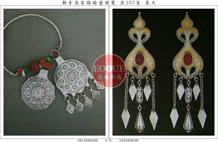Boucles d'oreilles 欧美印巴风格外贸珠宝首饰设计资料