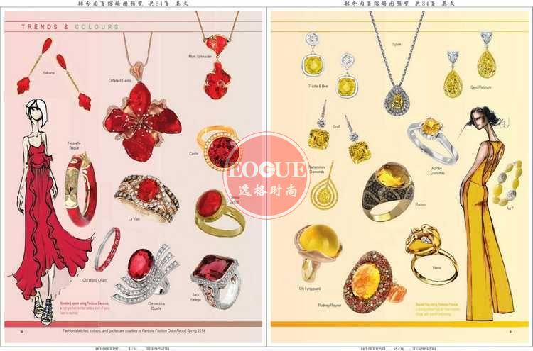 CIJTC 瑞士国际珠宝流行趋势和珠宝流行配色杂志 春季号N298