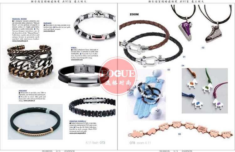 L'Orafo 意大利专业珠宝首饰杂志 4月号