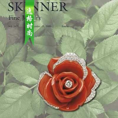 Skinner 美国珠宝首饰设计欣赏参考杂志 N2471