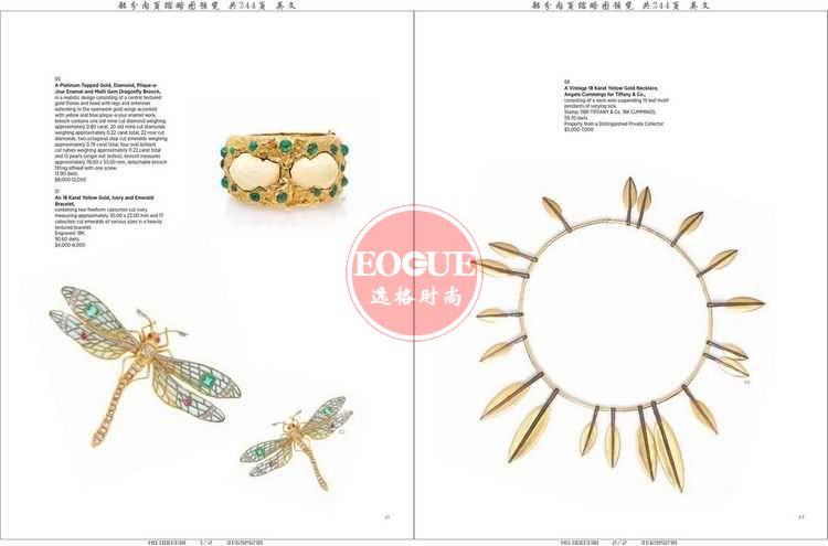 LH 美国珠宝首饰设计欣赏杂志 N220