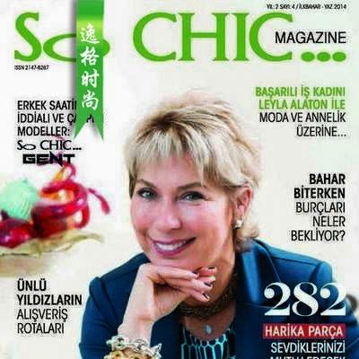 SO CHIC 土耳其珠寶配飾雜志 1月號N4
