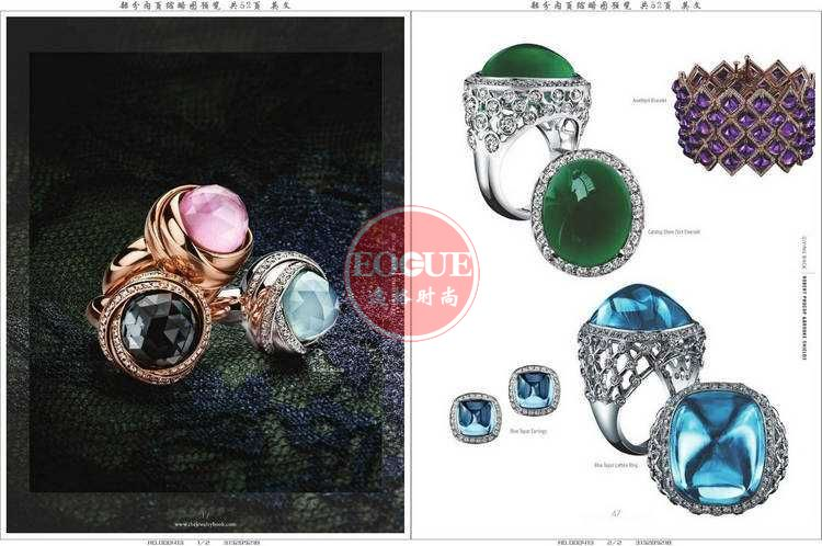 TJB 歐美婚慶珠寶首飾款式設計專業雜志 N6