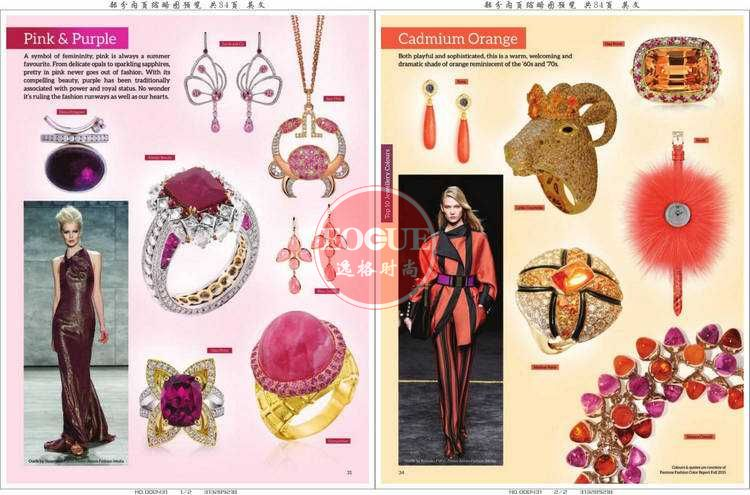 CIJTC 瑞士国际珠宝流行趋势和珠宝流行配色杂志 夏季号N301