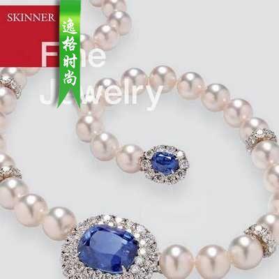 Skinner 美国珠宝首饰设计欣赏参考杂志 N2847B