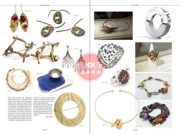 VJ 意大利維琴察珠寶首飾雜志 4月號