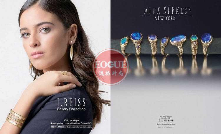 Indesign 欧美时尚首饰设计专业杂志 3-4月号
