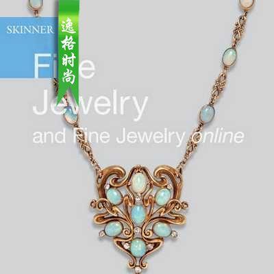 Skinner 美国珠宝首饰设计欣赏参考杂志 N2993B