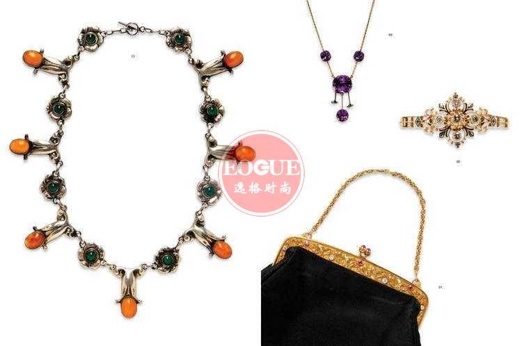 Skinner 美国珠宝首饰设计欣赏参考杂志 8月号N3027B