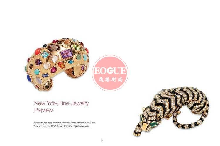 Skinner 美国珠宝首饰设计欣赏参考杂志 11月号N3044B