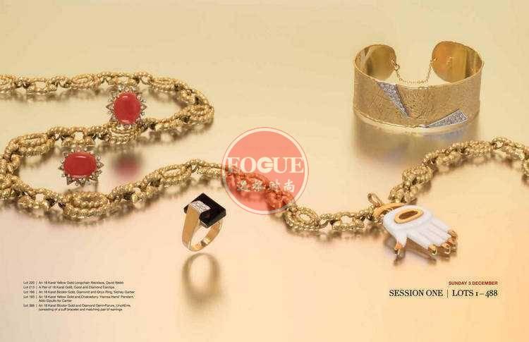 LH 美国珠宝首饰设计欣赏杂志 11月号N535